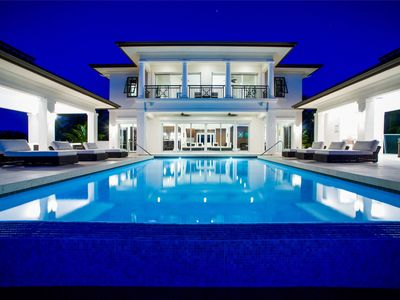 Ultra-Cool 6-Bedroom Beachfront Mansion in Rum Point