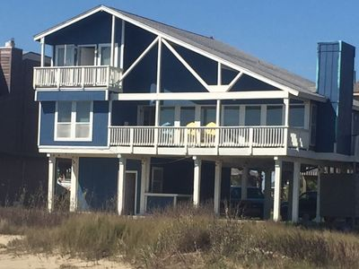 BEACH FRONT! Amazing Home with double balconies, front row sunsets!
