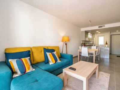 Photo for Andalucia, apartment with terrace, garden & communal pool