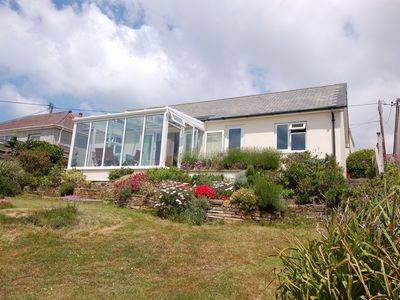 Photo for HILLCREST, pet friendly, with a garden in Porthtowan, Ref 967212