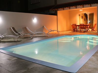 Photo for 3 bedroom villa with private pool, for 6 people