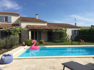 Photo for Very nice house 160 m² 8 beds pool near Saint Remy de Provence