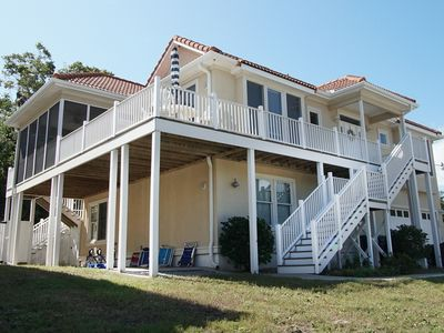 Photo for SEAVIEW... a deluxe PET-FRIENDLY North Myrtle Beach vacation home with a private pool