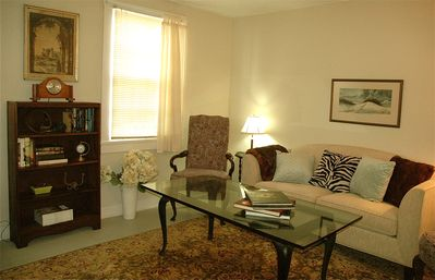 Another view--living room.