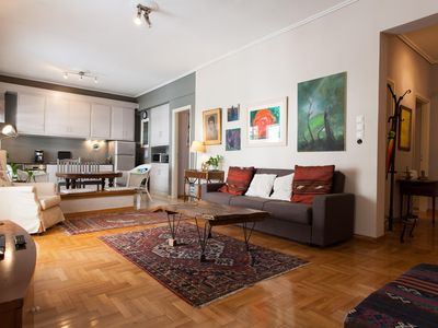 Photo for Athens centre, artist's apartment for 4