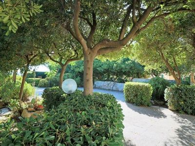 Photo for Villa Mare Verde apartment in Ugento with private parking, private terrace & shared garden.