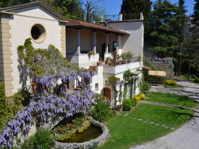 Photo for Apartment in villa with garden and view of Florence