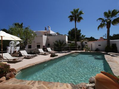 Photo for Moroccan Style Villa with private pool and landscaped gardens. Sleeps 8. Apt 2.
