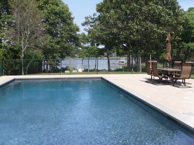 Photo for Beautiful, Waterfront Home With Dock And Heated Gunite Pool!