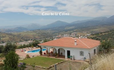 Photo for Lovely Villa with heated pool,glorious valley and mountain views