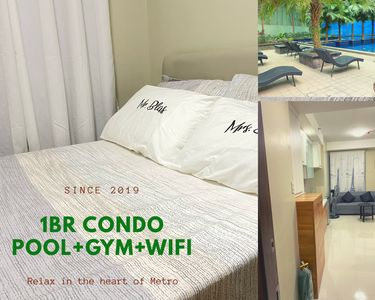Photo for 1BR Condo GYM+POOL+WIFI+24/7Security