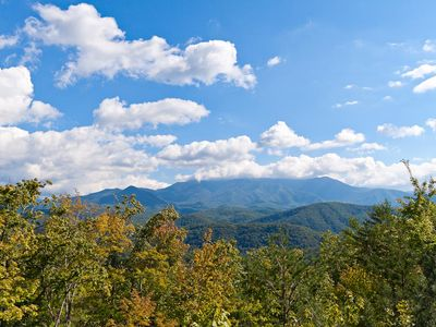 Photo for Huge Mountain Views, Close to Gatlinburg, Pool Table, Great location