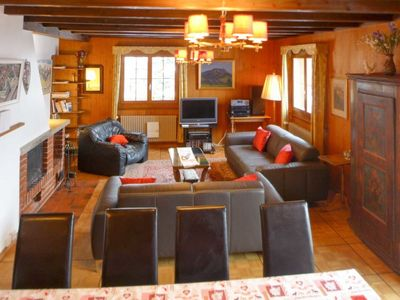 Photo for Apartment Chalet Clairval in Charmey - 10 persons, 5 bedrooms