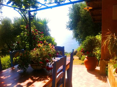 Photo for Villa Gioia with Sea View and Aeolian Islands