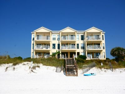 Photo for Whispering Sands #103 - Recently Renovated, ground floor unit, GULF FRONT