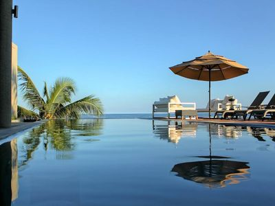Photo for Luxury Beachfront Haven with Oceanfront Infinity Pool & Daily Maid Service