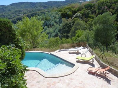 Photo for Exclusive Villa In Quiet Hills Behind Cannes, Fabulous Infinity Pool