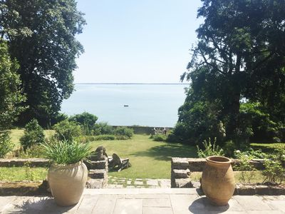 Photo for Magical seaside 1800s Country House with a semi-private beach
