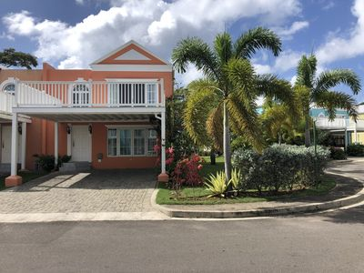 Beachfront townhouse in secure Little Bay Country Club Negril Jamaica Carribean