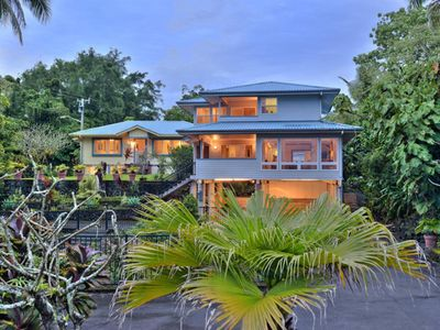 Photo for Two Luxury Homes @ Richardsons Beach Park-Hilo Bay. Sleeps 16. Best Location.