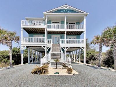 Photo for Beach Crew - Wonderful Ocean and Marsh Views with Excellent Beach Access!  Private Pool!