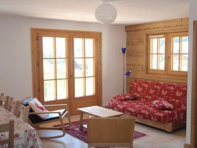 Photo for Les Contamines-Montjoie: new apartment - in the historical center of the village