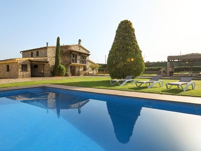 Photo for Country house with extensive garden, swimming pool, barbecue and ping pong. Ideal environment of calm!