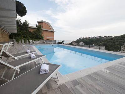 Photo for Il Biancospino 11-Residence Felice -14 accommodation 300 meters from the sea, swimming pool, race