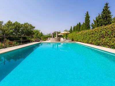Photo for Traditional villa with pool and garden - Villa S'Hort des Misser