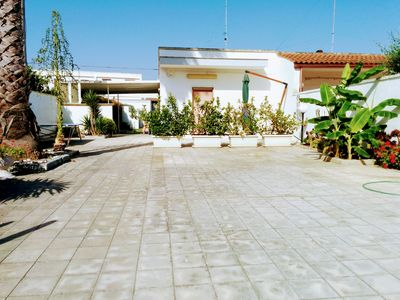 Photo for ITALY PUGLIA SALENTO SAN FOCA SPACIOUS AND COMFORTABLE HOUSE WITH 600 MT OF GARDEN