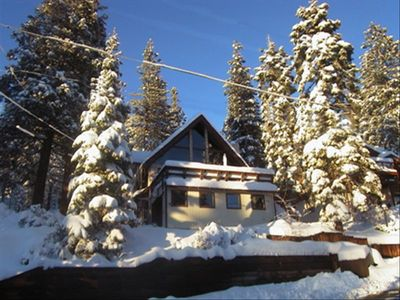Photo for Spacious Tahoe Home W Lake Views, Hot Tub, 5 Mins to Northstar