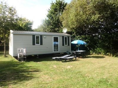 Photo for Lanven camping *** - Mobile home Super Mercure 4 Persons 3 Rooms