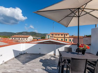 Photo for With Roof Terrace and near the Long Sandy Beach - Elena