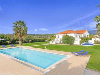 Photo for Villa Polymnia - This spacious Villa includes a private pool, WI-FI & A/C