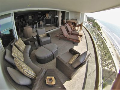 Photo for Beachfront 'True Penthouse' 2 level 4000 SF in Dreams Resort. Hot Tub, Concierge