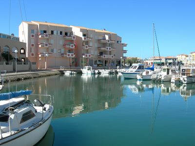 Photo for A splendid view of the marina for this beautiful apartment