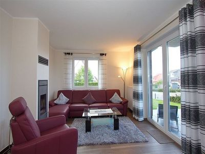 """Photo for Whg """"Gorch Fock"""" on the ground floor with fireplace, gr. Terrace with garden,"""
