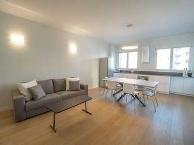 Photo for Brand new 4 persons apt, City Life district