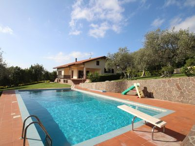 Photo for Stunning private villa for 5 people with private pool, WIFI, TV and parking