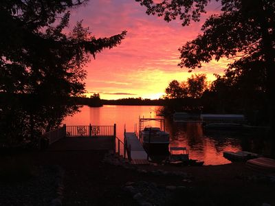 Photo for Summertime Fun at crystal clear Archibald Lake for your Large Group!!