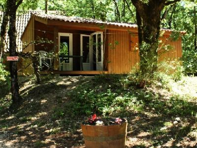 Photo for Camping La Truffière *** - Chalet 2 Rooms 2/4 People