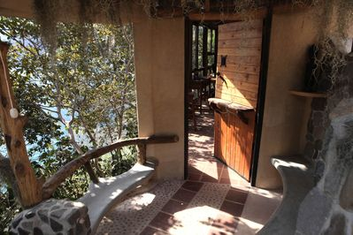 secluded on the rim of the ancient volcano that created Lago de Atitlan.