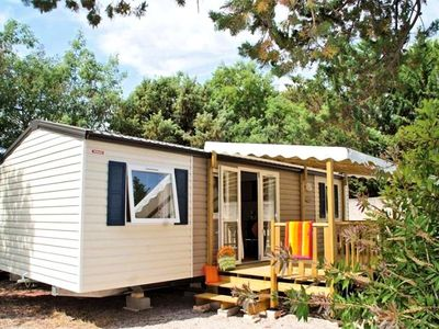 Photo for Camping Le Fréjus *** - Mobile Home Florus Confort 4 Rooms 6 People
