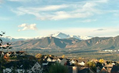 Photo for Breathtaking Mountain Views | Near Air Force Academy | Jetted Tub in Master