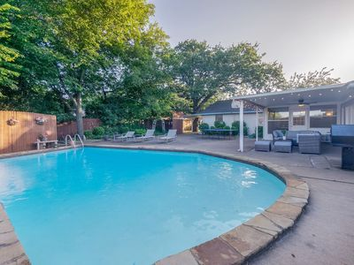 Photo for Luxurious Grand Home & POOL! Ideal for big groups!