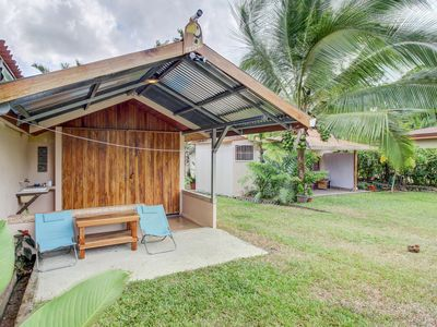 Photo for Colorful getaway w/ a furnished patio, volcano views, & a great location!
