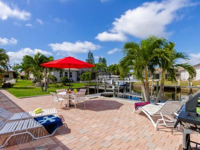 Photo for 3 bedroom 2 baths, pool, direct sailboat access only minutes to the Gulf of Mexico