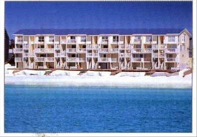 BeachRoad98, a true gulf front townhouse.