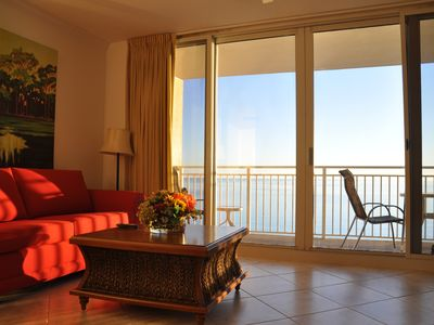 Photo for Gorgeous 1br Oceanfront/Beachfront no extra charg
