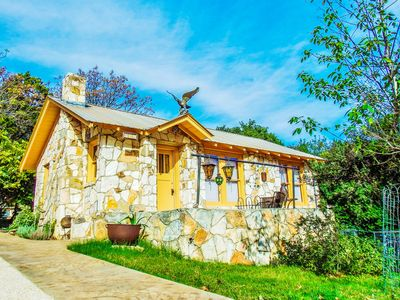 Photo for The Painter's Cabin - Hill Country Charm in Eclectic Methodist Encampment